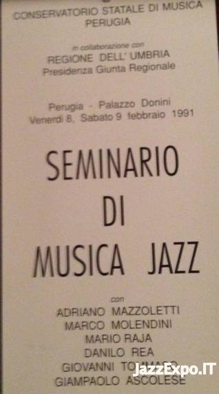 154 - SEMINARIO DI MUSICA JAZZ