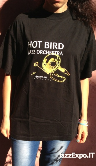 15 - T-Shirt HOT BIRD JAZZ ORCHESTRA@EUTELSAT