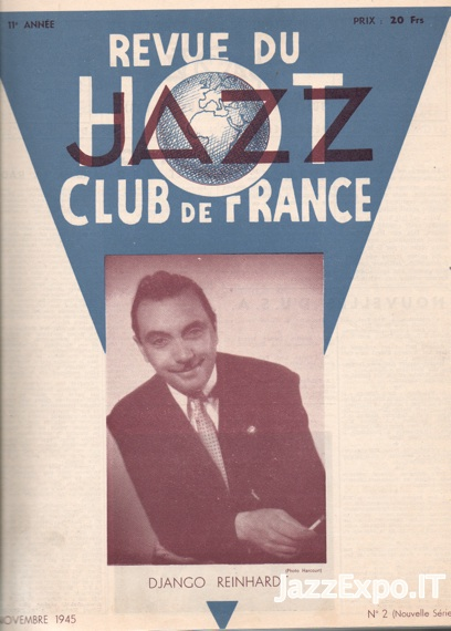 REVUE DU JAZZ HOT CLUB DE FRANCE 11 Annee - No 2