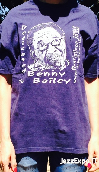 4B - T-Shirt RONCIGLIONE JAZZ@Dedicated to Benny Bailey