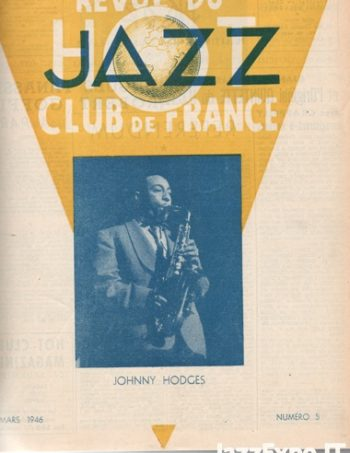 REVUE DU JAZZ HOT CLUB DE FRANCE 12 Annee - No 5