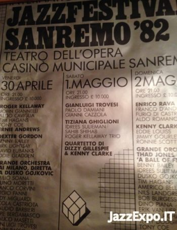 55 - SANREMO INTERNATIONAL JAZZ FESTIVAL