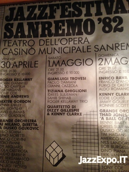 55 - SANREMO INTERNATIONAL JAZZ FESTIVAL