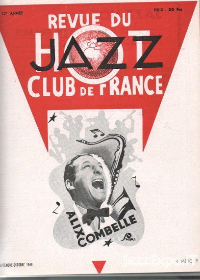 REVUE DU JAZZ HOT CLUB DE FRANCE 12 Annee - No 9