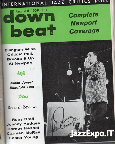DOWN BEAT - Vol 26 - No 16 August 6, 1959