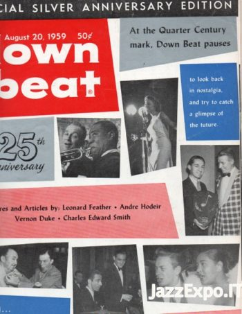 DOWN BEAT - Vol 26 - No 16 August 20, 1959
