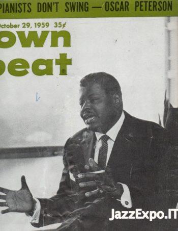 DOWN BEAT - Vol 26 - No 22 October 29, 1959