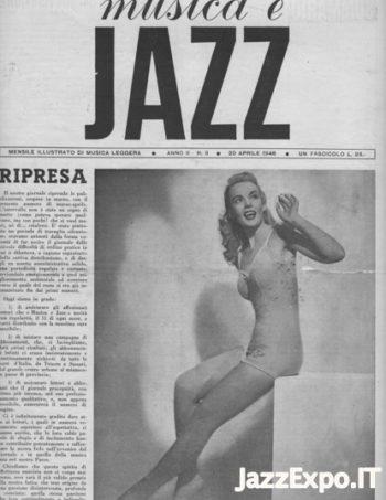 MUSICA E JAZZ Anno II No 3 - 20 Aprile 1946