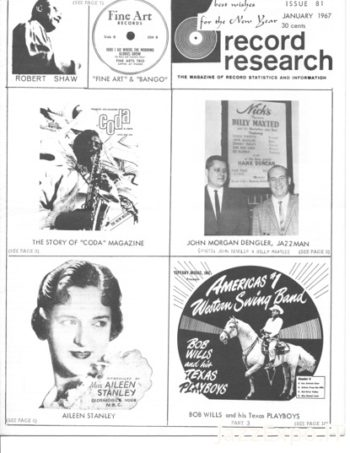 RECORD RESEARCH Issue 81 - January 1967