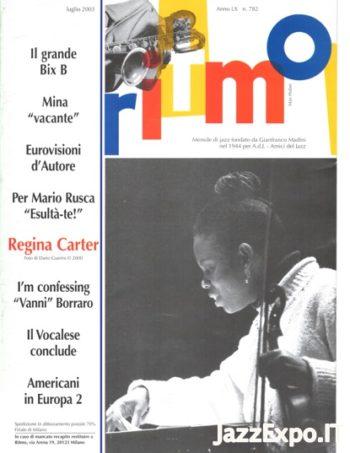 RITMO Anno LX - No 782 - Luglio 2003