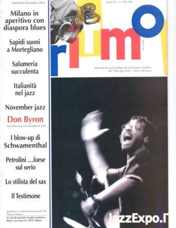 RITMO Anno LX - No 785 /786 - Novembre/Dicembre 2003