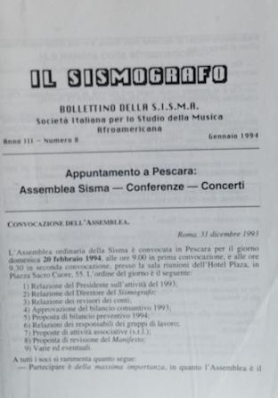 Il Sismografo (Italian)