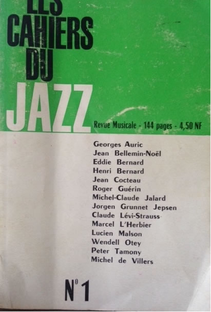 Les Cahiers du Jazz (French)
