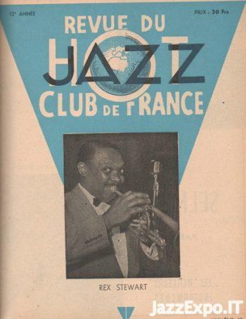 REVUE DU JAZZ HOT CLUB DE FRANCE 12 Annee - No 10