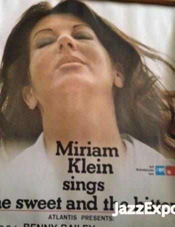 10 - MIRIAM KLEIN SINGS THE SWEET & THE BITTER