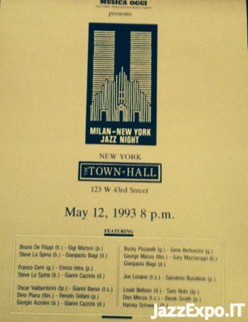 158 - MILAN-NEW YORK JAZZ NIGHT