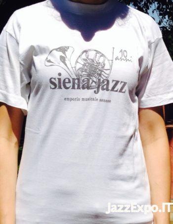 37 - T-Shirt SIENA JAZZ@10 ANNI
