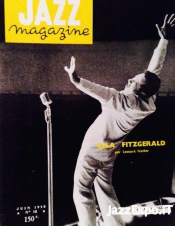 38 - JAZZ MAGAZINE No 38 Juin 1958
