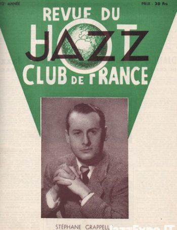 REVUE DU JAZZ HOT CLUB DE FRANCE 12 Annee - No 4