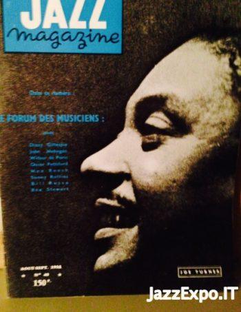 40 - JAZZ MAGAZINE No 40 Aout/Sept 1958