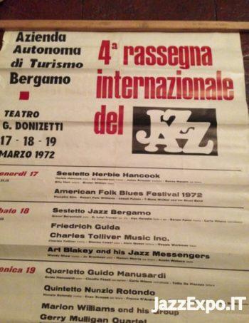 4 - 4 RASSEGNA INTERNAZIONALE DEL JAZZ di BERGAMO 1972