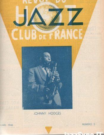 REVUE DU JAZZ HOT CLUB DE FRANCE 12 Annee - No 5
