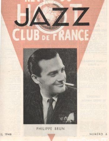 REVUE DU JAZZ HOT CLUB DE FRANCE 12 Annee - No 6