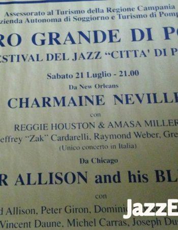 8 - VIII FESTIVAL DEL JAZZ CITTA DI POMPEI 1984