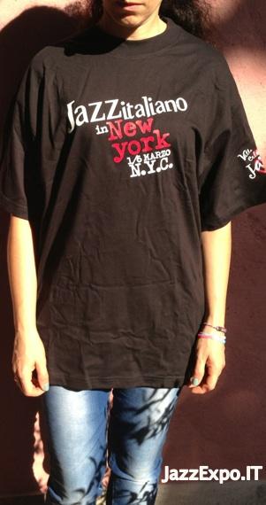8 - T-Shirt JAZZ ITALIANO A NEW YORK