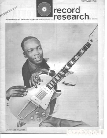 RECORD RESEARCH Issue 31 - November 1960