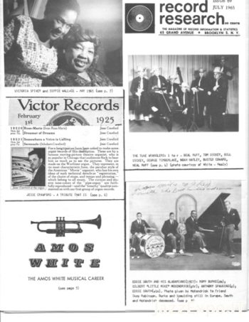 RECORD RESEARCH Issue 69 - July 1965
