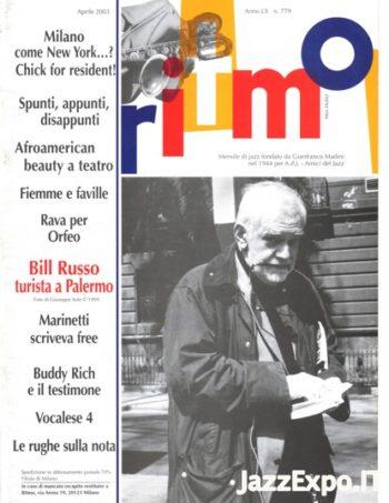 RITMO Anno LX - No 779 - Aprile 2003