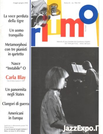 RITMO Anno LX - No 780 /781 - Maggio/Giugno 2003